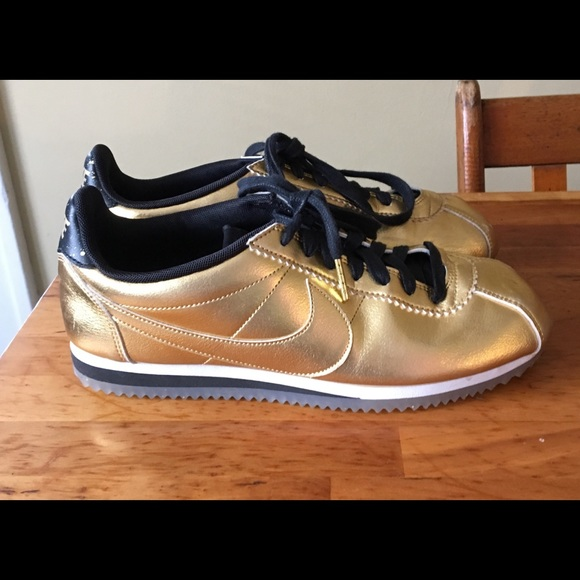 check out 75a47 9b9ef Nike Cortez Shoes Gold Anniversary sz 8.5